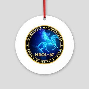 NROL-67 Ornament (Round)