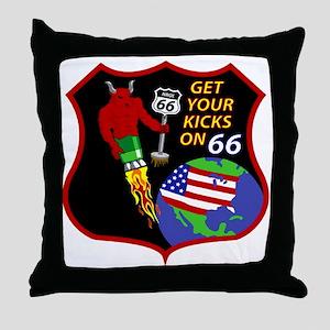 NROL 66 Throw Pillow