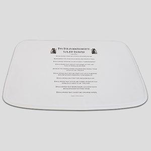 Cat Commandments Bathmat