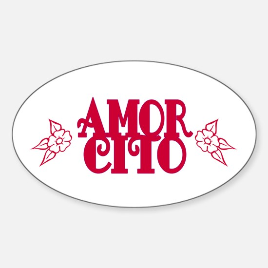 Amorcito Oval Decal