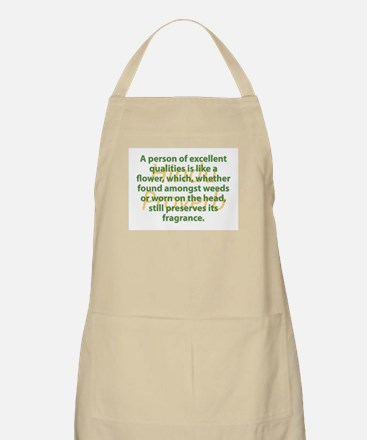 A Person Of Excellent Qualities Light Apron