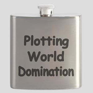 Plotting World Domination Flask