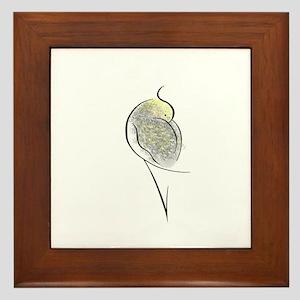 Pearl Cockatiel Framed Tile