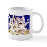 Cute Cartoon Rabbit Moon Mug