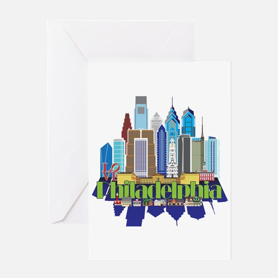 Iconic Philadelphia Greeting Cards