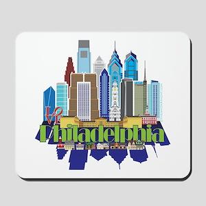 Iconic Philadelphia Mousepad