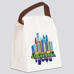 Iconic Philadelphia Canvas Lunch Bag