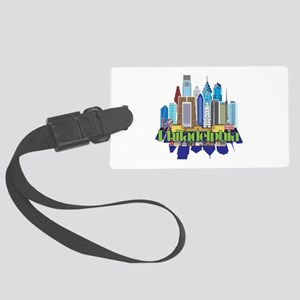 Iconic Philadelphia Luggage Tag