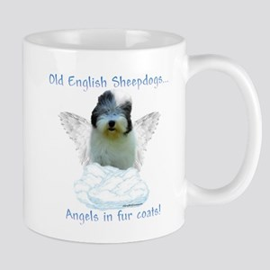 Old English Angel Mug