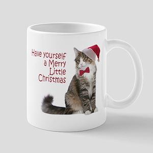 Santa Cat Mugs