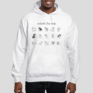 'Unleash the Dogs' Hooded Sweatshirt