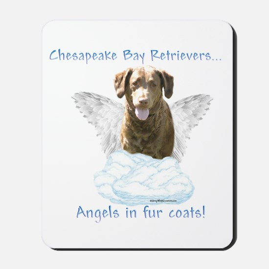 Chessie Angel Mousepad