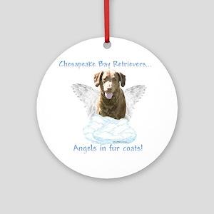 Chessie Angel Ornament (Round)