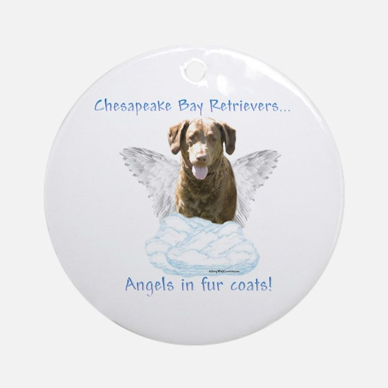 Chessie Angel Ornament (Round)
