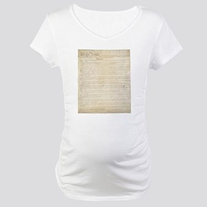 The Us Constitution Maternity T-Shirt