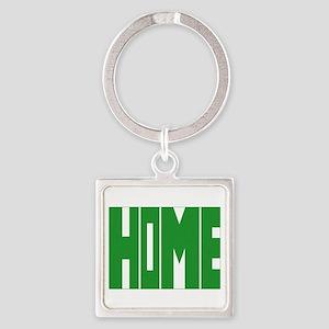 Colorado Home Square Keychain