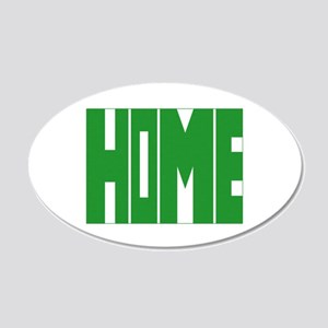 Colorado Home 20x12 Oval Wall Decal