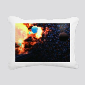The Great Unknown Rectangular Canvas Pillow