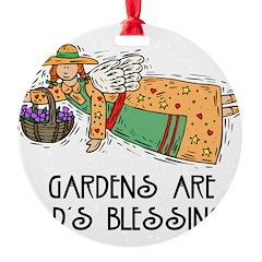 Gardens are Gods Blessing Ornament