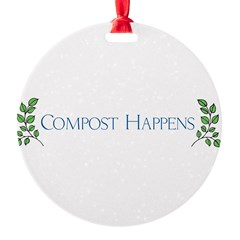 Compost Happens Ornament