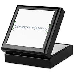 Compost Happens Keepsake Box