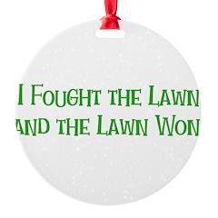 I Fought the Lawn Ornament