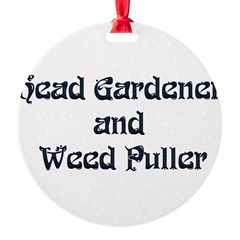 Head Gardener Ornament