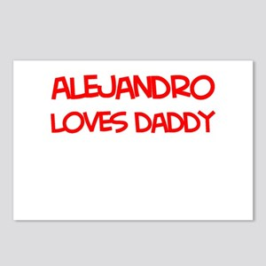 Alejandro Loves Daddy Postcards (Package of 8)