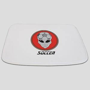Alien Soccer Head Bathmat