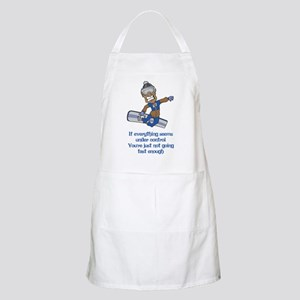Not Going Fast Enough Apron