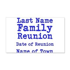 Family Reunion Wall Decal