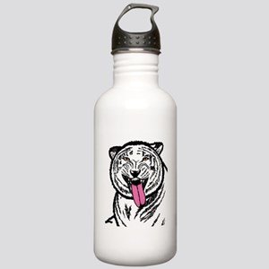 White TIger Tongue  Stainless Water Bottle 1.0L