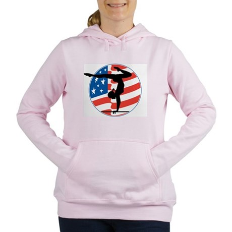 American Gymnast Women's Hooded Sweatshirt