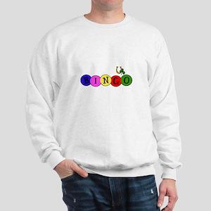 BINGO good luck shirt wt Sweatshirt