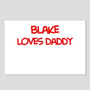 Blake Loves Daddy Postcards (Package of 8)