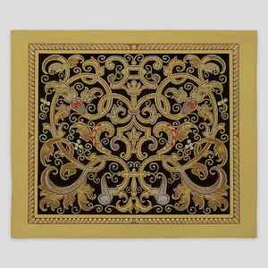 Ornate Black and Gold King Duvet