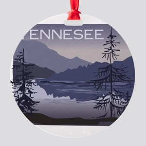 Tennessee Round Ornament