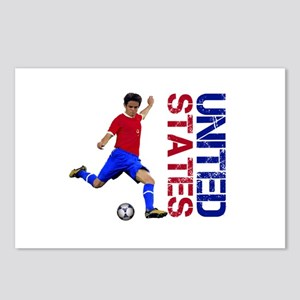 United States soccer Postcards (Package of 8)
