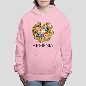 Armenian Coat of Arms Women's Hooded Sweatshirt