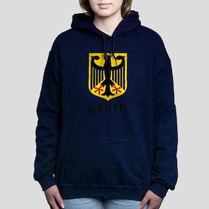 German Coat of Arms Women's Hooded Sweatshirt