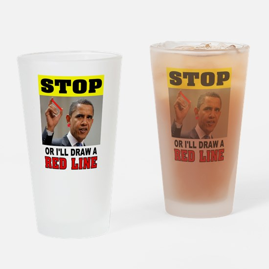 WIMP Drinking Glass