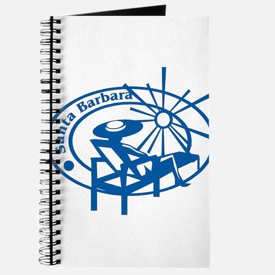 Santa Barbara Passport Stamp Journal