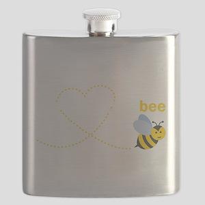 Grandmom To Bee Flask