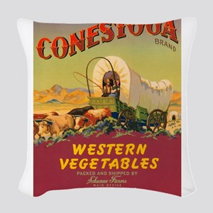 Conestoga Western Vegetables Woven Throw Pillow