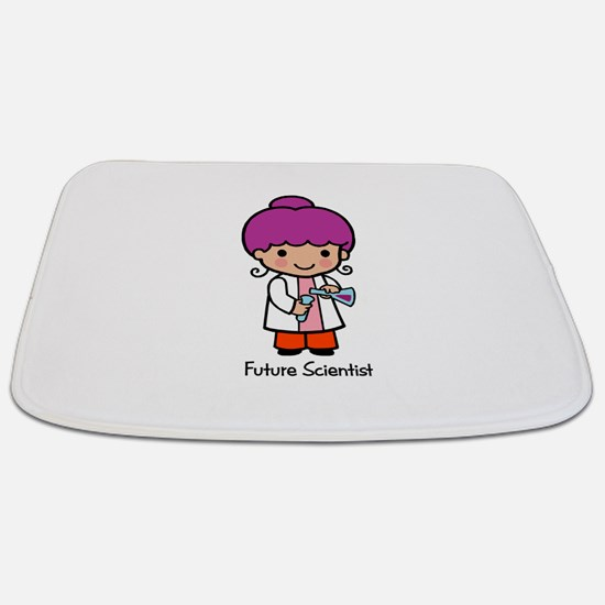 Future Scientist - girl Bathmat