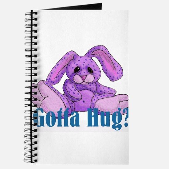Gotta Hug? Bunny Journal