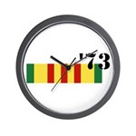 Vietnam 73 Wall Clock