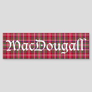 Tartan - MacDougall Sticker (Bumper)