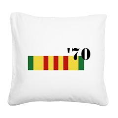 Vietnam 70 Square Canvas Pillow
