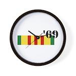 Vietnam 69 Wall Clock